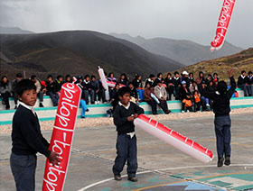 Huancavelica with open arms