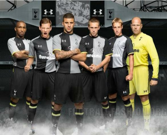 "Tottenham Hotspur's new ""Under Armour"" third kit, 2012/2013."